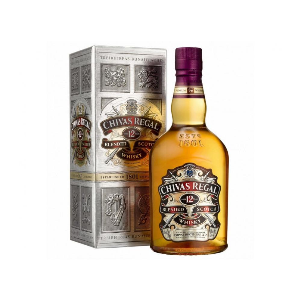 Whisky Chivas Regal 12 Años 375 Ml