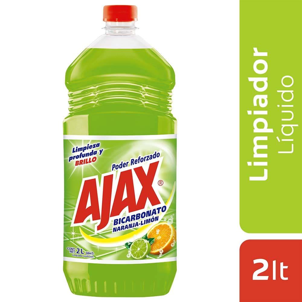 Ajax Bicarbonato Naranja Limón 2000 Ml