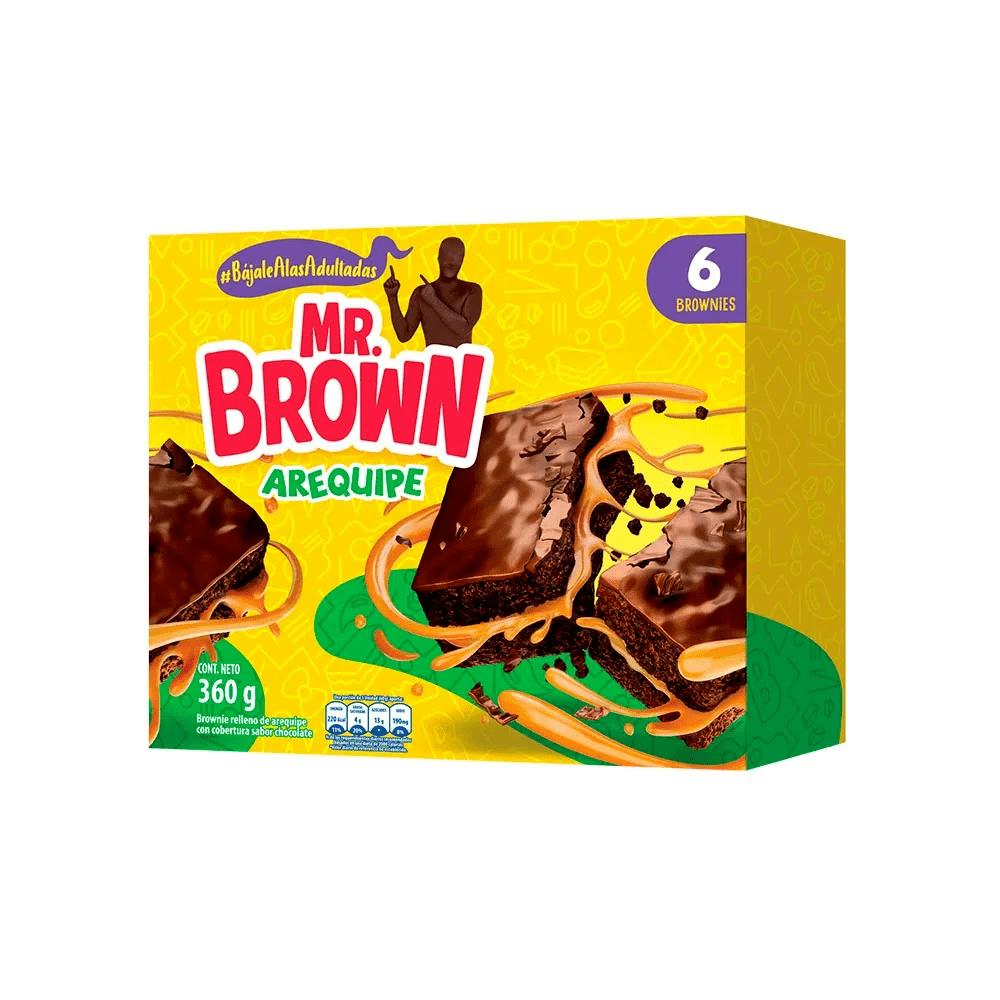 Brownie Bimbo Arequipe X6 Und 360 G