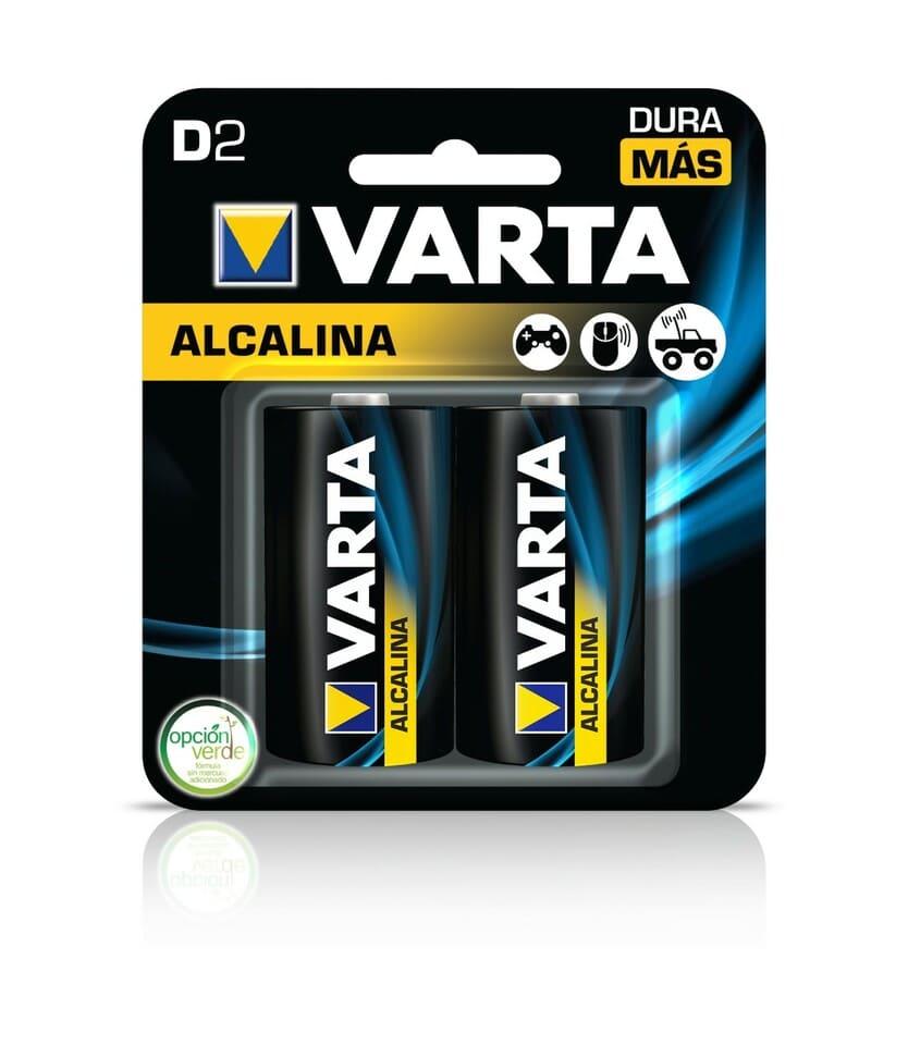 Pila Varta Alkalina D2