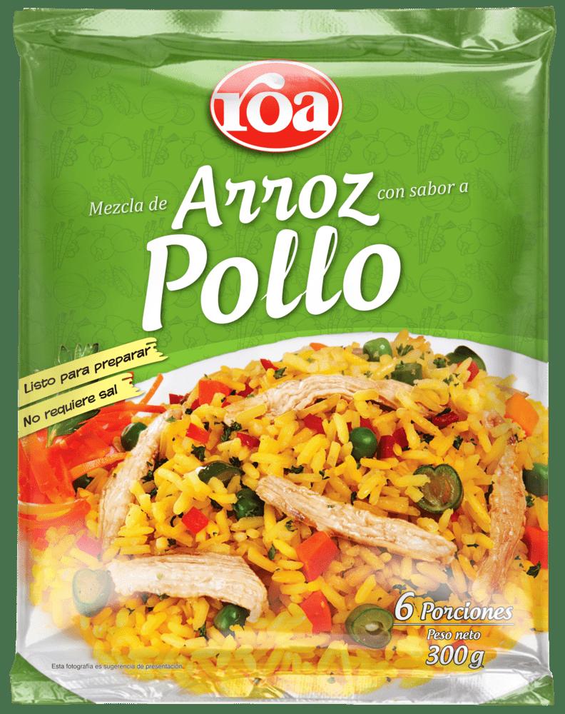 Arroz Pollo Vegetales Roa 300 G