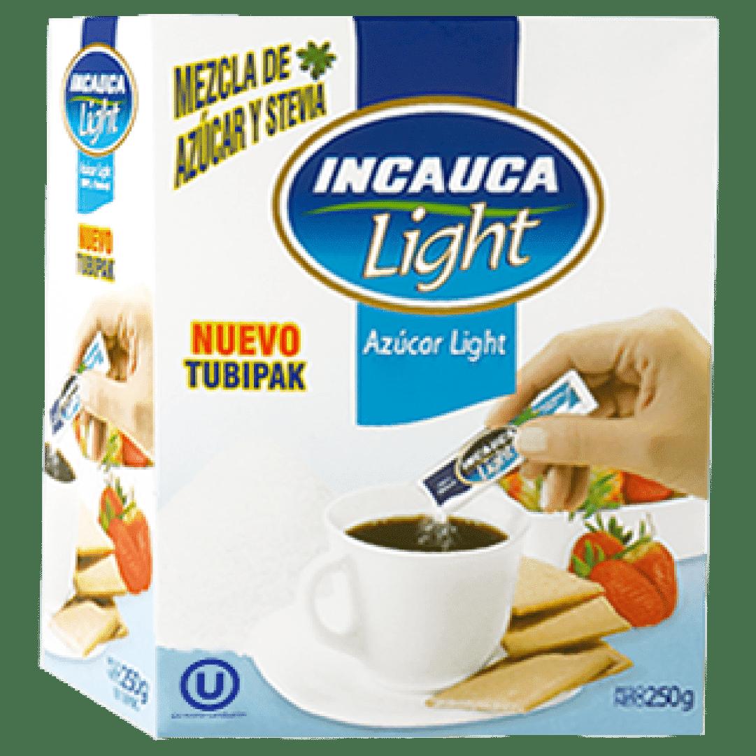 Azúcar  Incauca Light Blanca Sobres 250 G