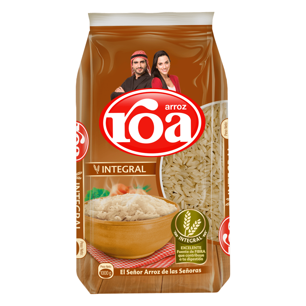 Arroz Roa Integral 1000 G