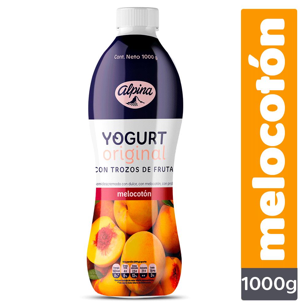 Yogurt Original Melocotón Botella 1000G