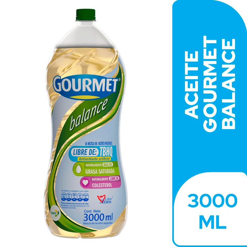 Aceite Gourmet Light 3000 Ml