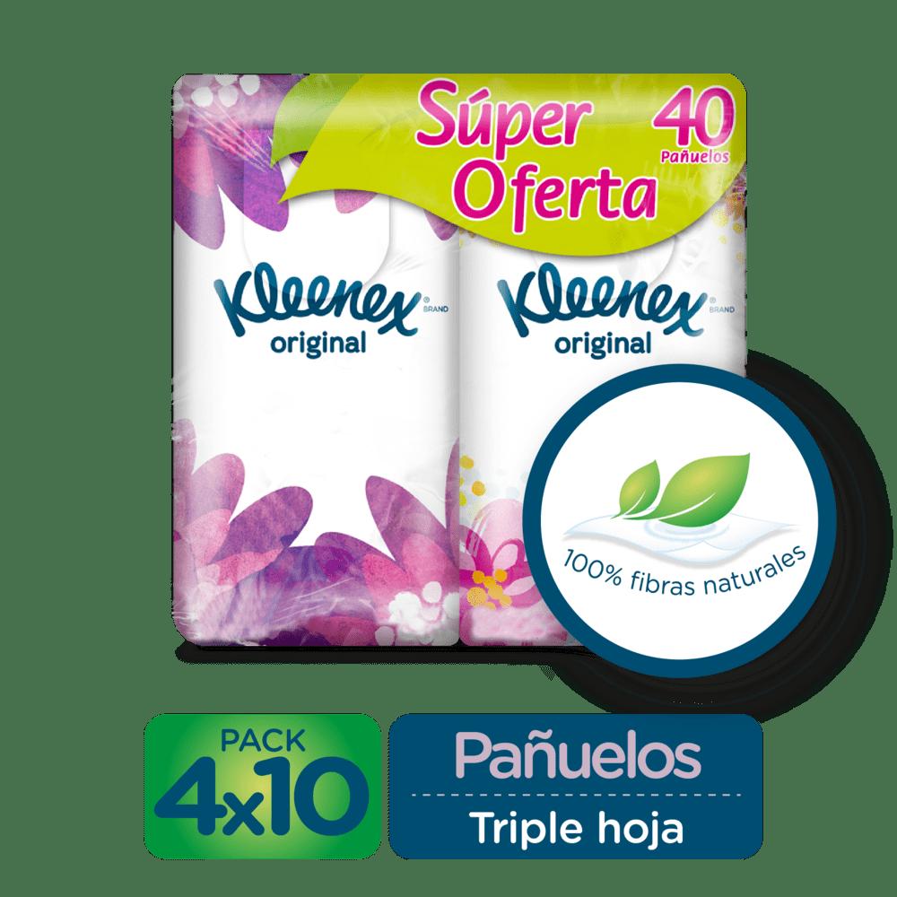 Facial Kleenex Bolsillo Precio Especial 4 Und
