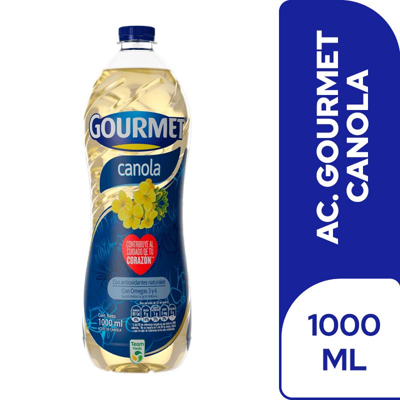 Aceite Gourmet Canola 1000 Cm3