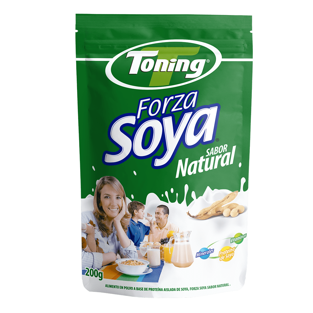 Forza Soya Toning Natural 200 G