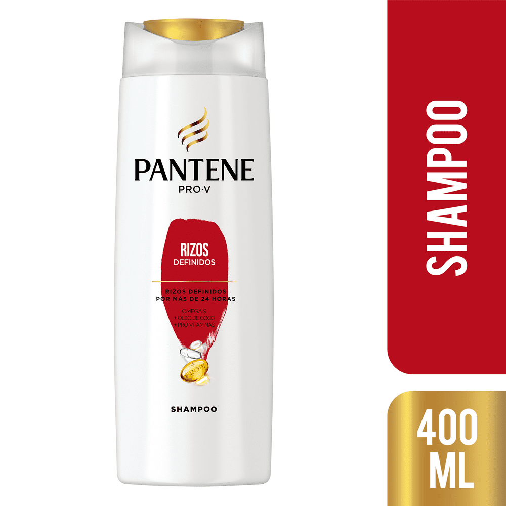 Shampoo Pantene 400 Ml Rizos Definidos