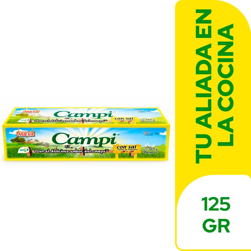Margarina Campi Barra 125 G