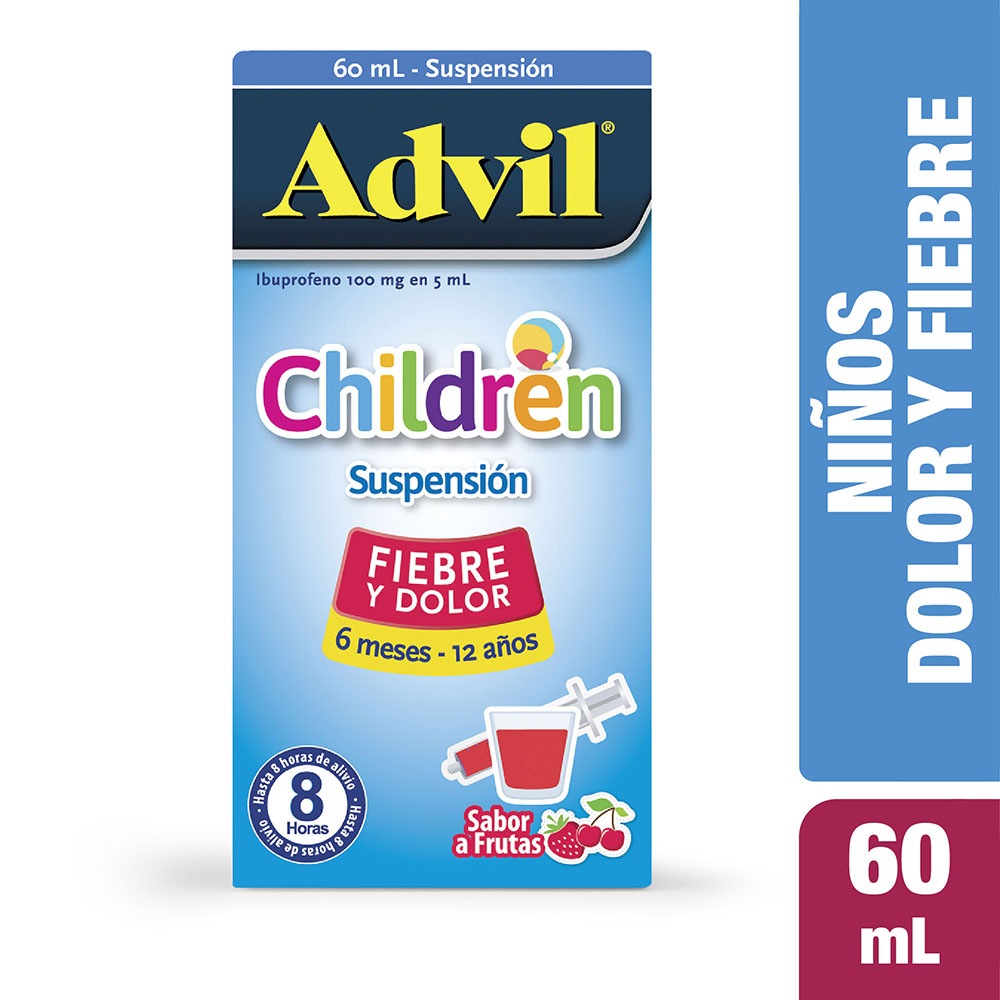 Advil Children Frasco 60 Ml