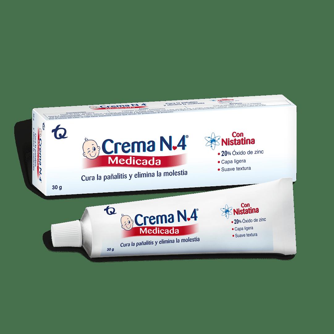 Crema N. 4 Medicada 30 Und