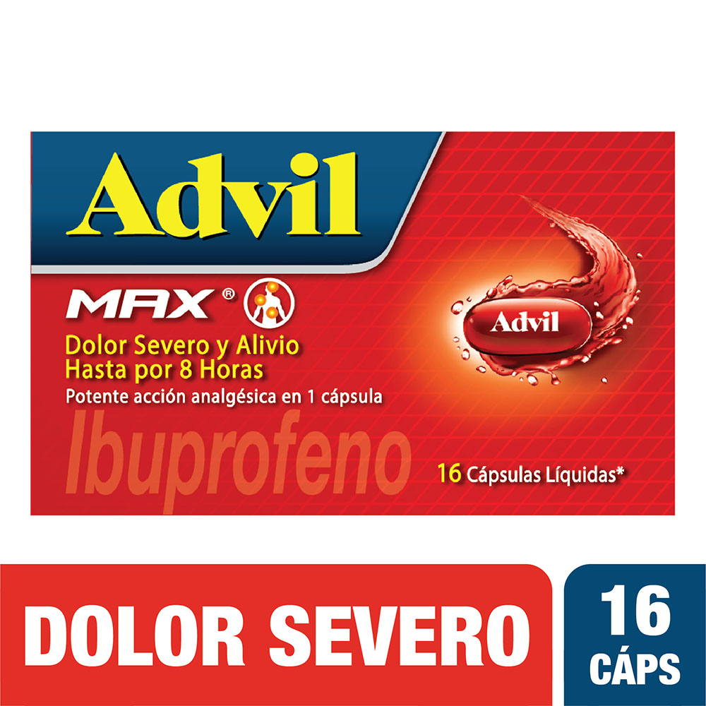 Advil Max 16 Cápsulas