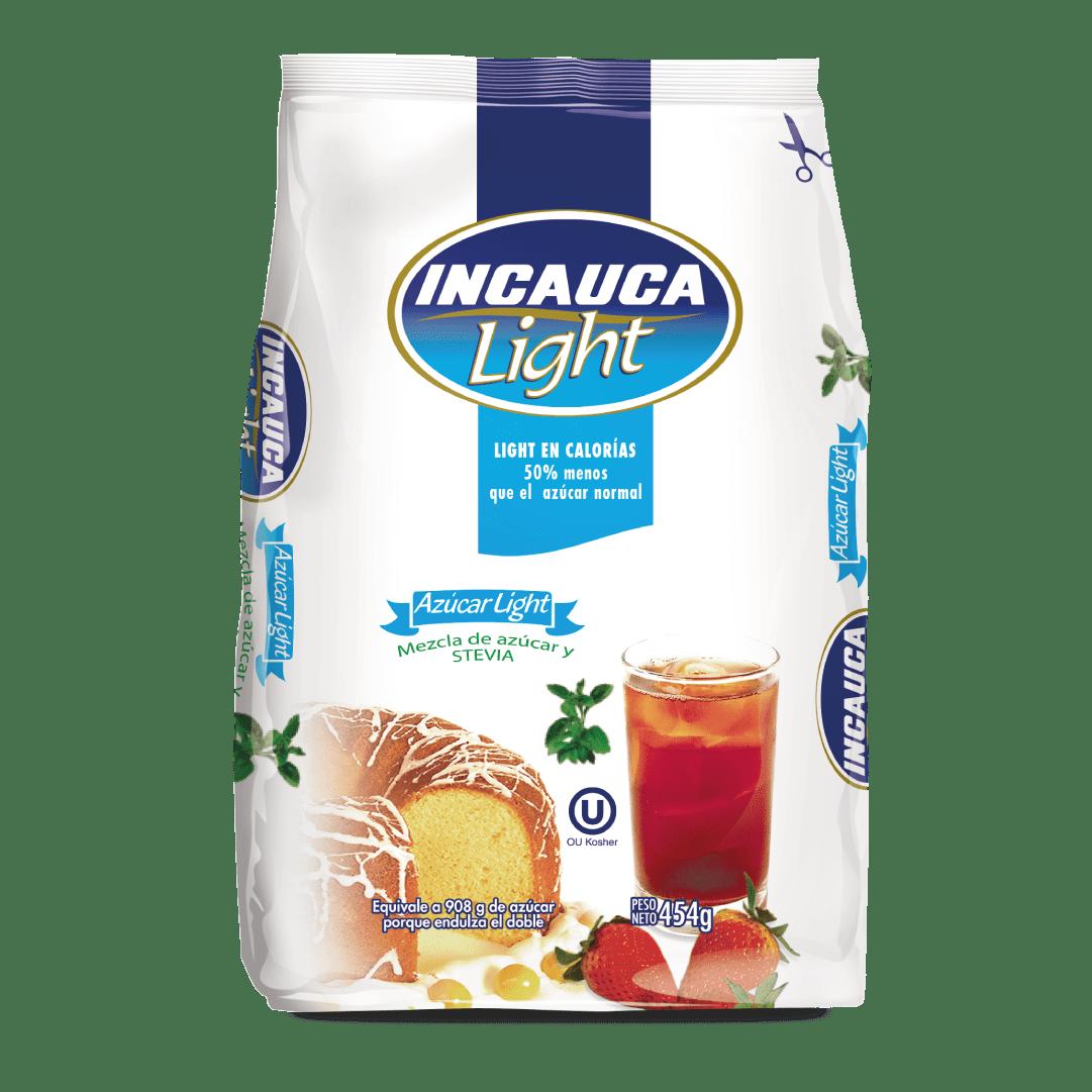 Azúcar  Incauca Light Bolsa Blanca 454 G