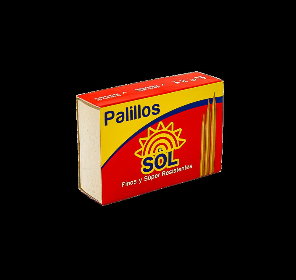 Palillos El Sol 180 Und