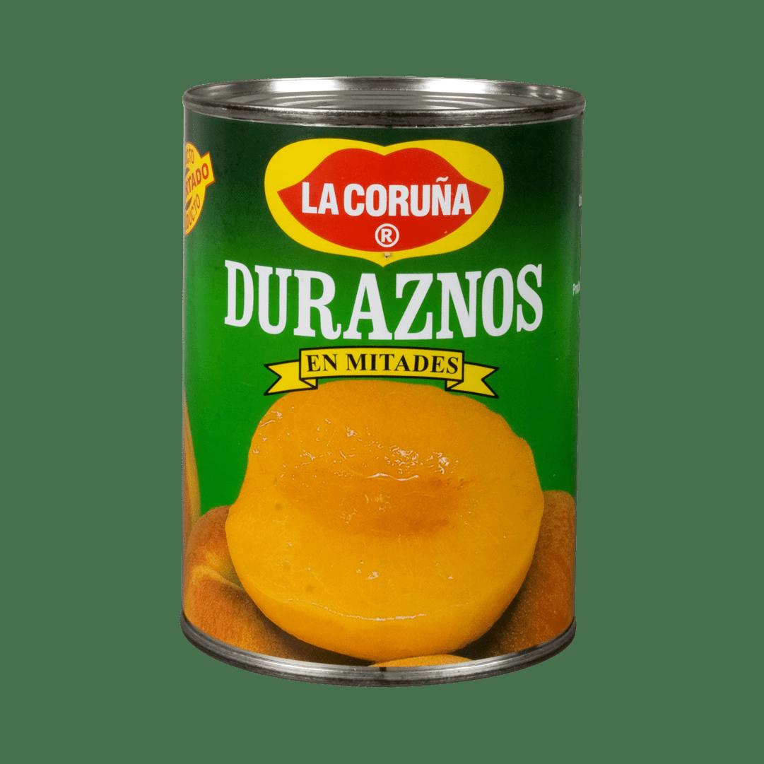 Duraznos La Coruña Mitades 425 G
