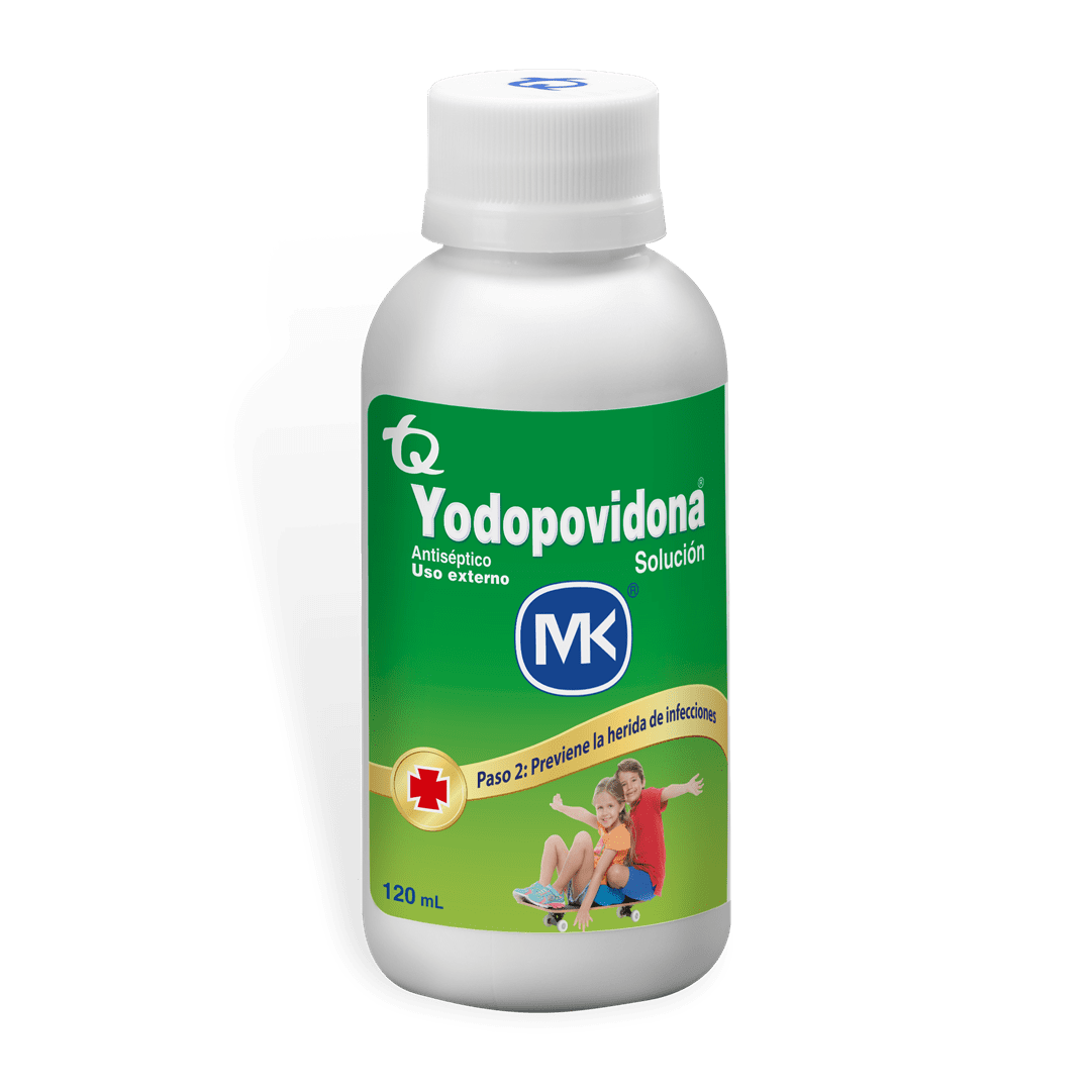 Yodopovidona Mk Solucion 120 Ml