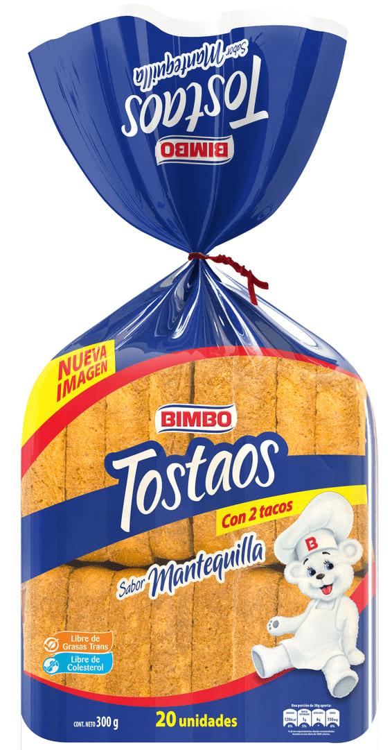 Tostaos Bimbo Mantequilla X20 Und 300 G