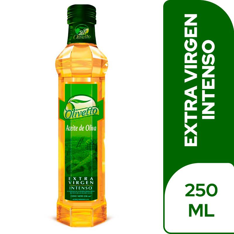 Aceite De Oliva Olivetto Extra Virgen 250 Cm3