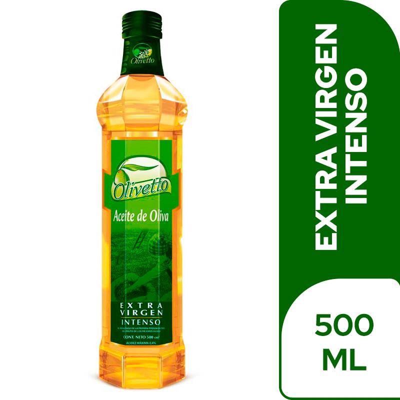 Aceite De Oliva Olivetto Extra Virgen 500 Cm3