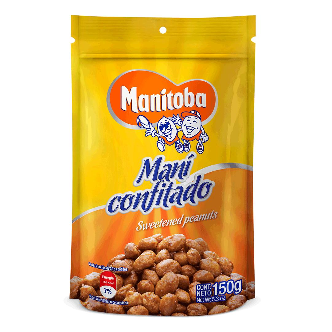 Maní  Manitoba Dulce 150 G
