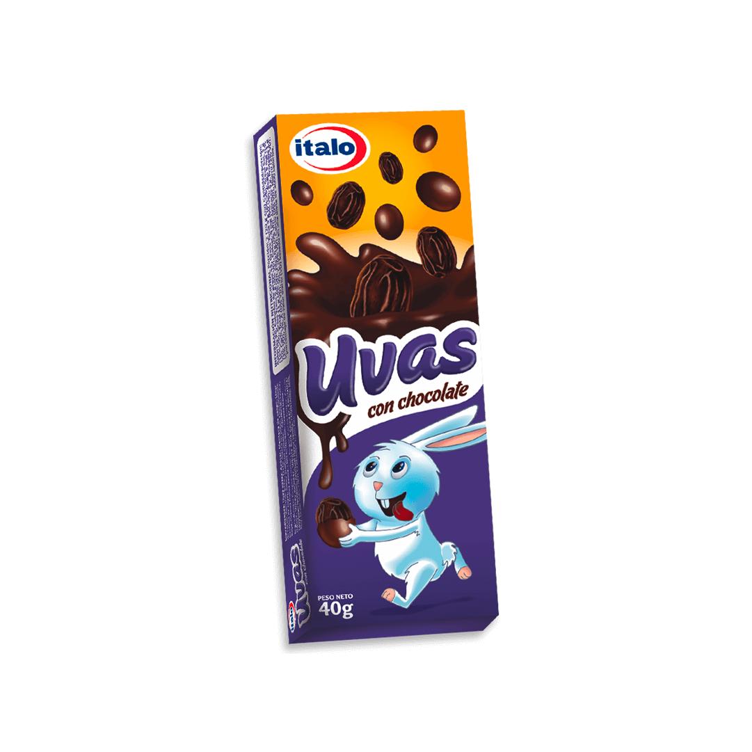 Uvas Italo Chocolate 40 G