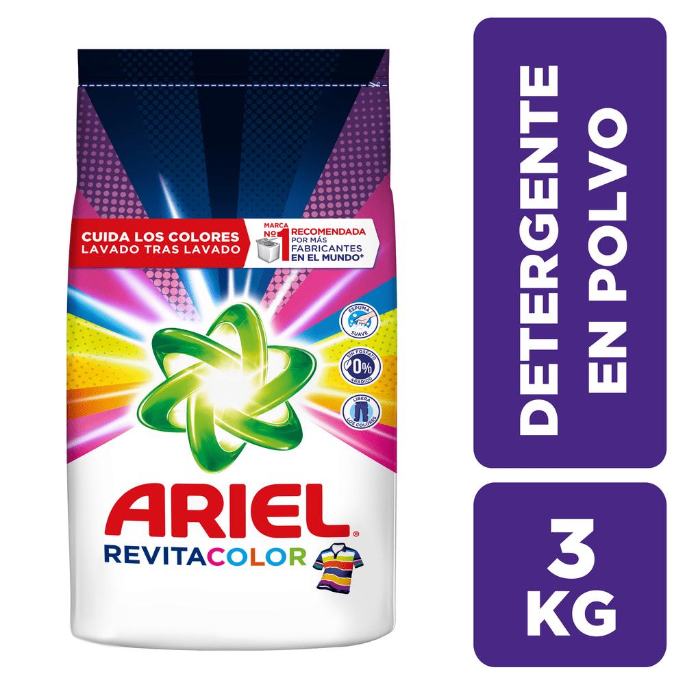 Detergente Ariel 300 G Revitacolor