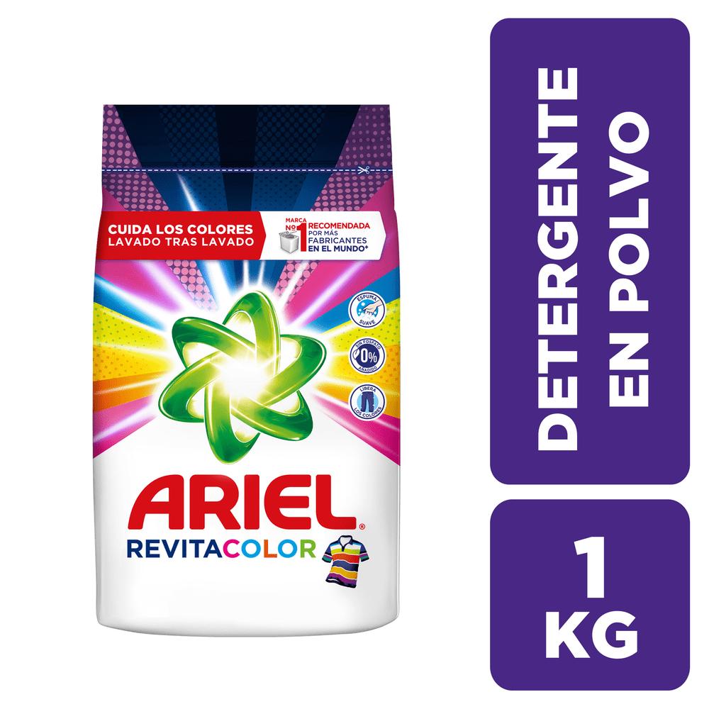 Detergente Ariel 1000 G Revitacolor