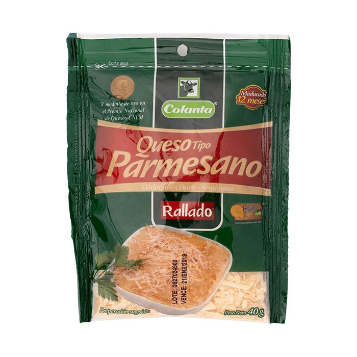 Queso Colanta Parmesano Rayado 40 G