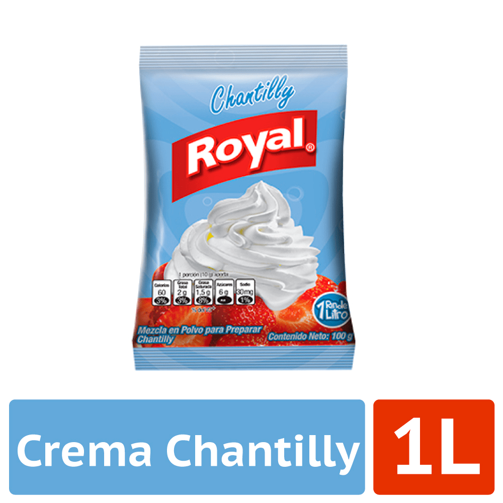 Crema Chantilly Royal 100 G