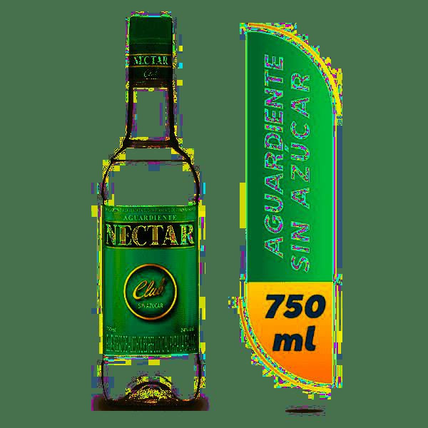 Aguardiente Nectar Club 750 Ml