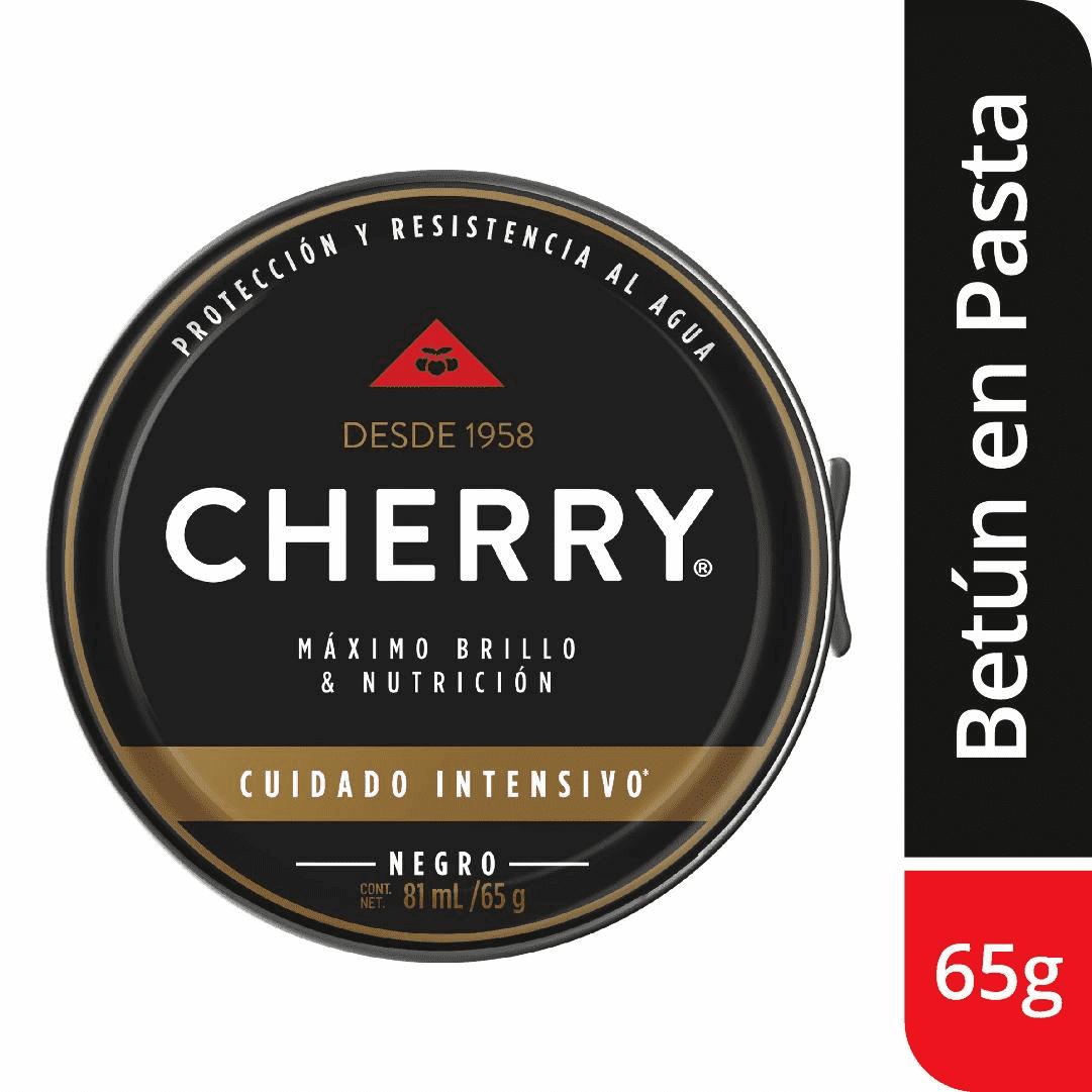 Betún Pasta Cherry Negro 65G + Pasta Negro 12G