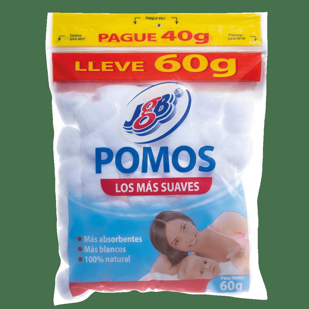 Algodón Jgb Pomos P40g Ll60g