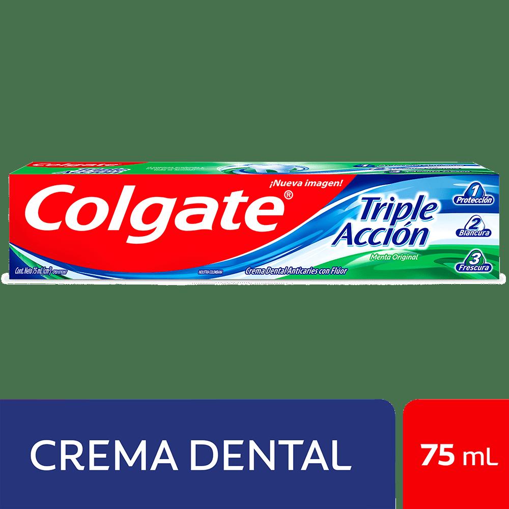 Crema Colgate Triple Acción 75 Ml