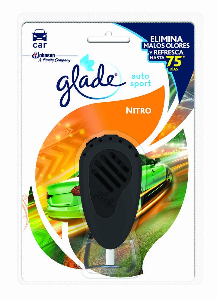Ambientador Glade Autosport Nitro Unidad