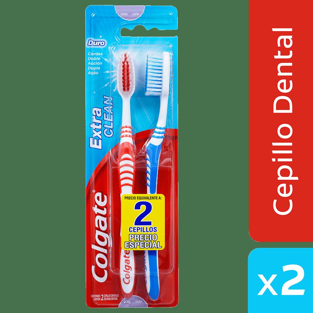 Cepillo Colgate Extrem Clean X2 Precio Especial 2 Und