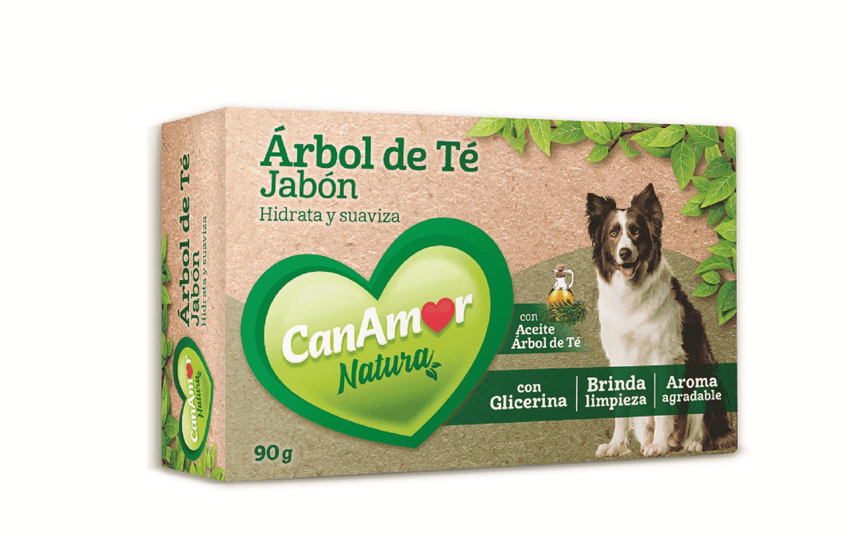 Jabón Can Amor Aceite Árbol De Te 90 G