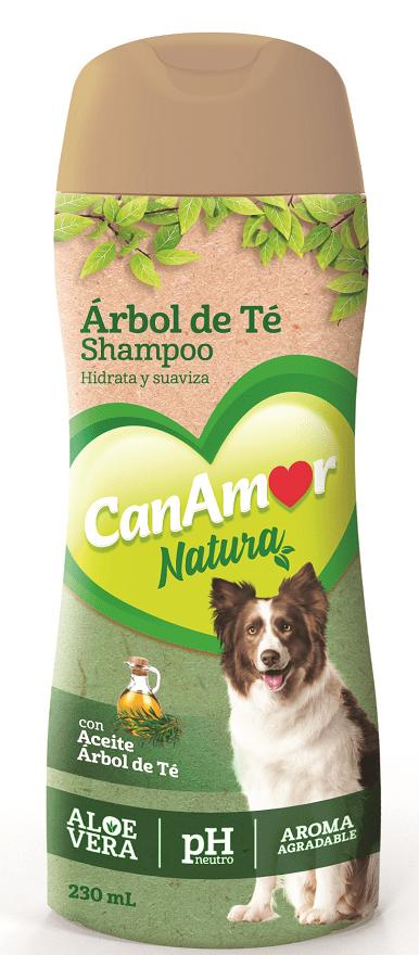 Shampoo Can Amor Aceite Árbol De Te 230 Ml