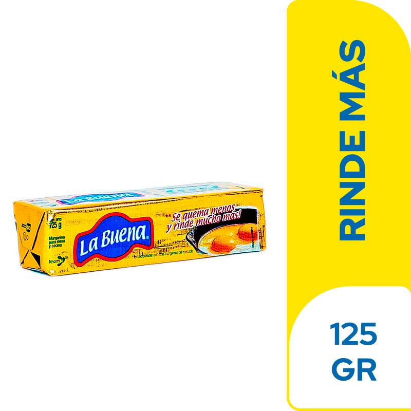 Margarina La Buena Barra 125 G