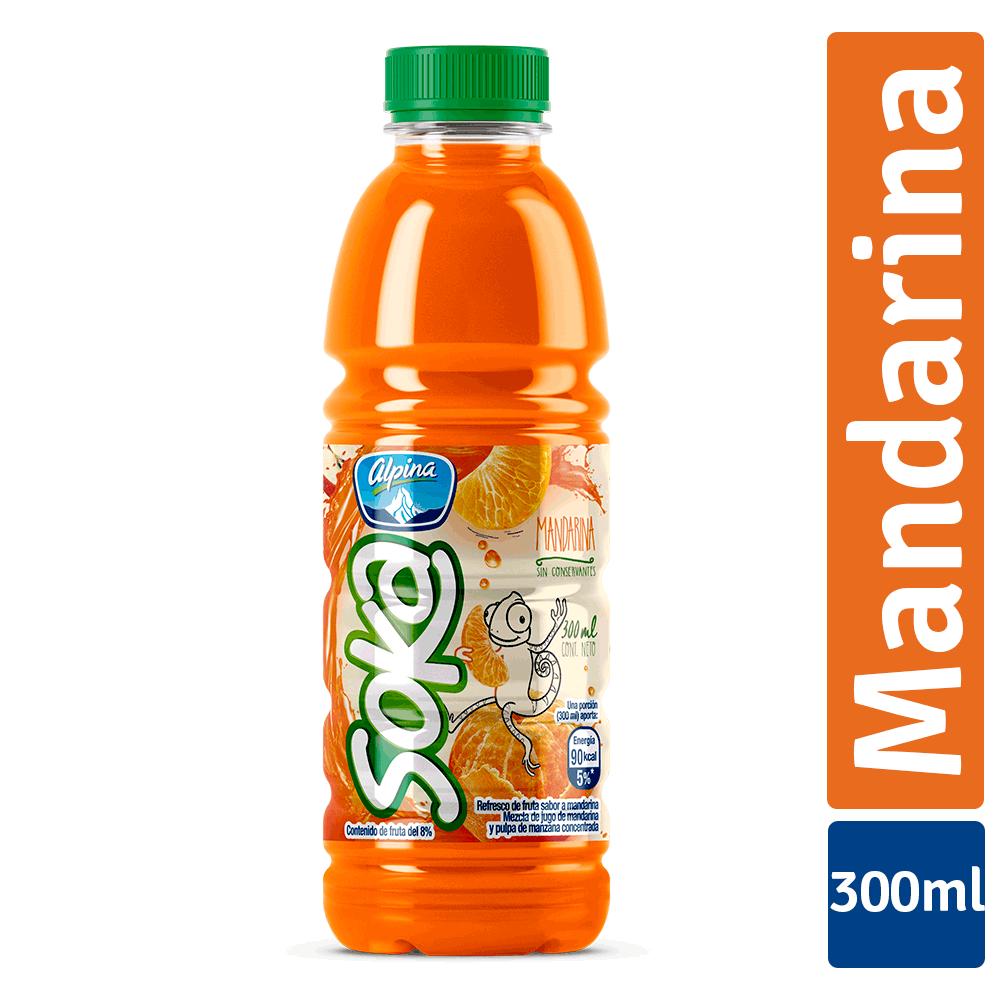 Soka Mandarina Botella 300Ml