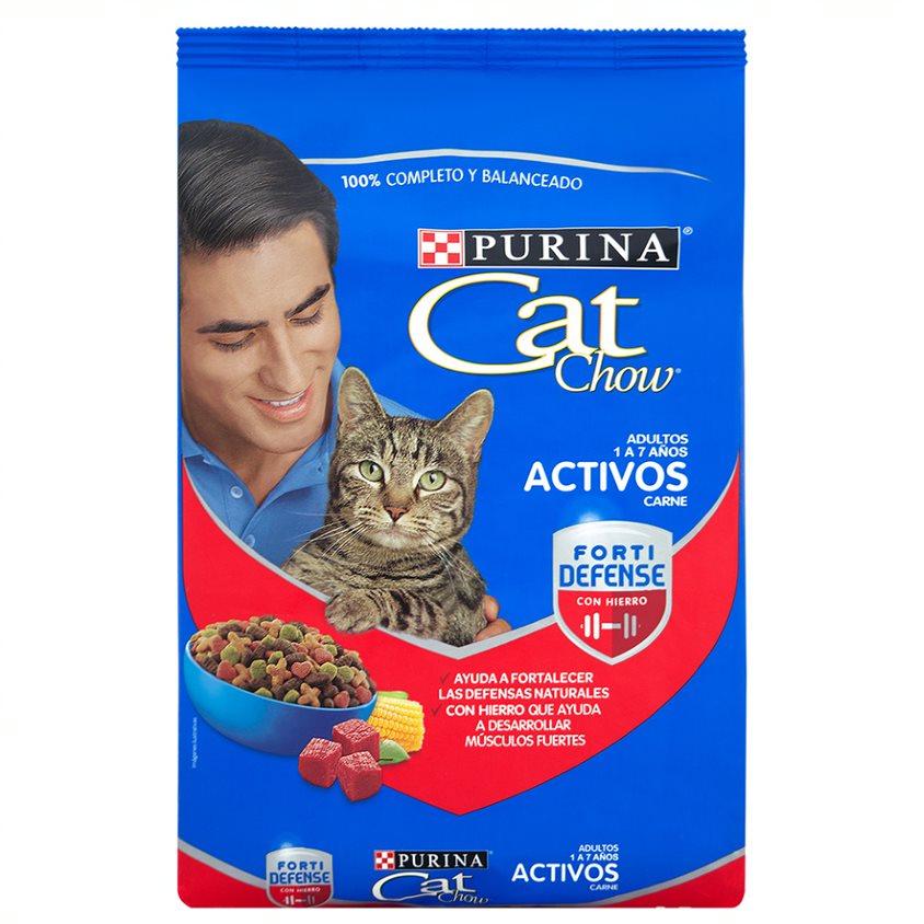 Cat Chow Adultos Activos Carne 8Kg