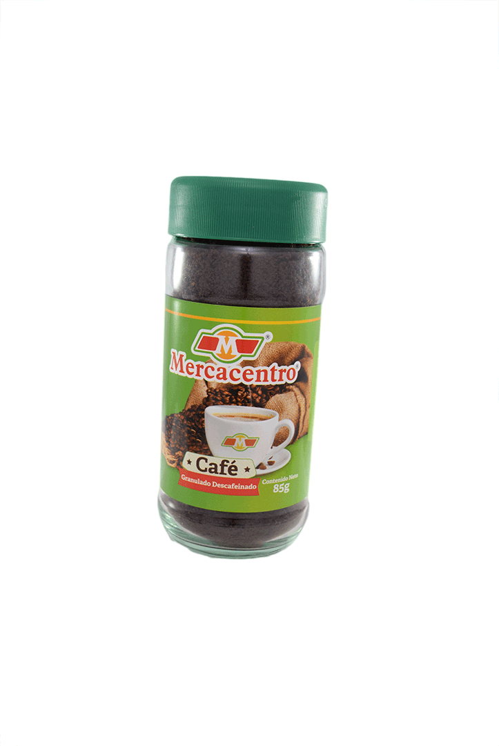Caf  Mercacentro Descafeinado 85 G