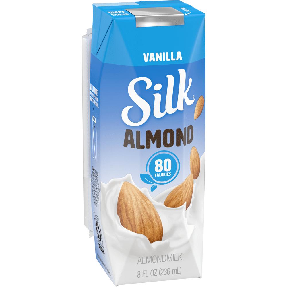 Bebida De Almendra Silk Vainilla 236 Ml