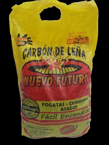 Carbon De Leña Nuevo Futuro 2000 G