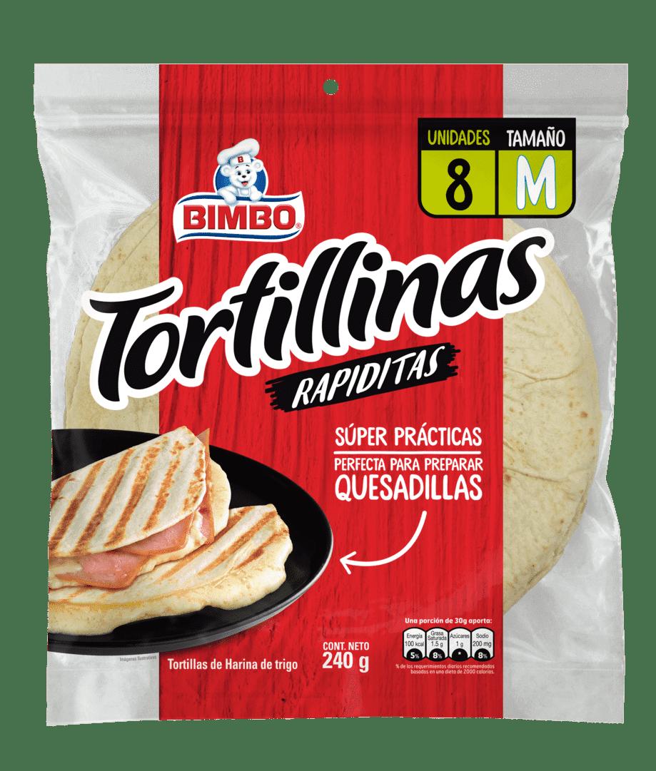 Tortilla Bimbo Blanca  X8 Und 240G