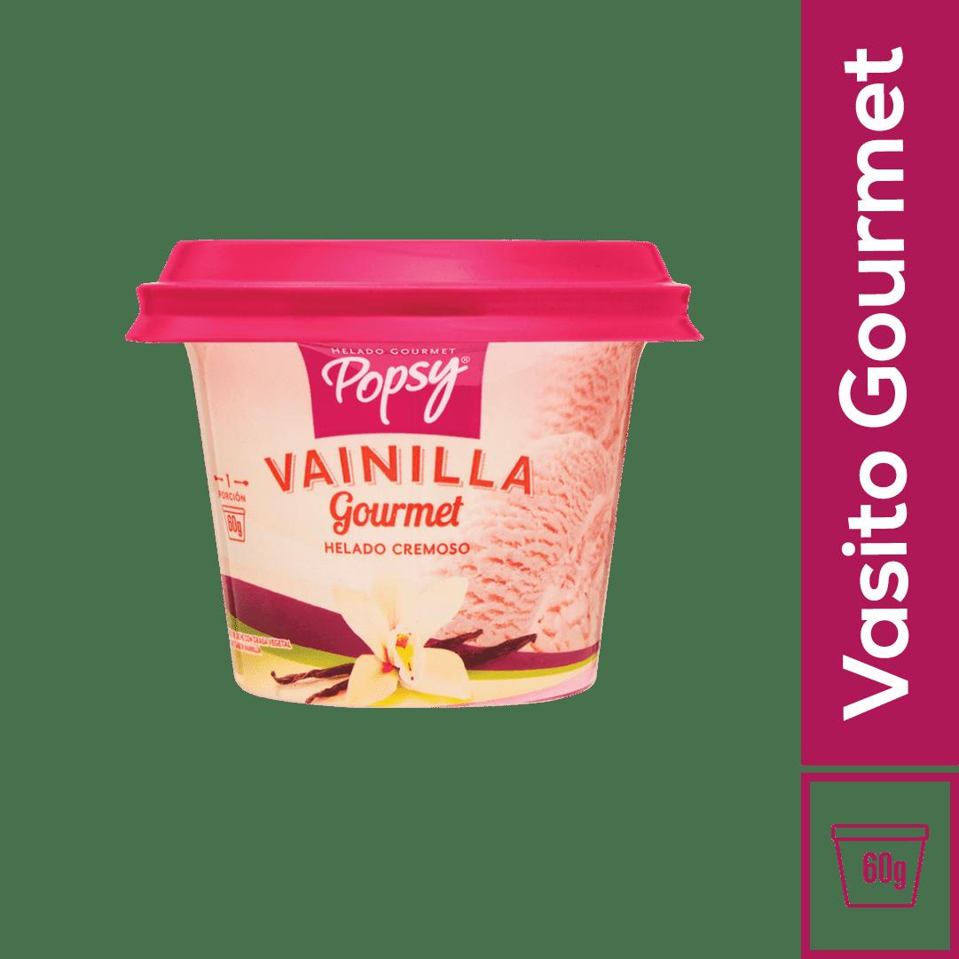 Helado Popsy Vasito Vainilla 60 G