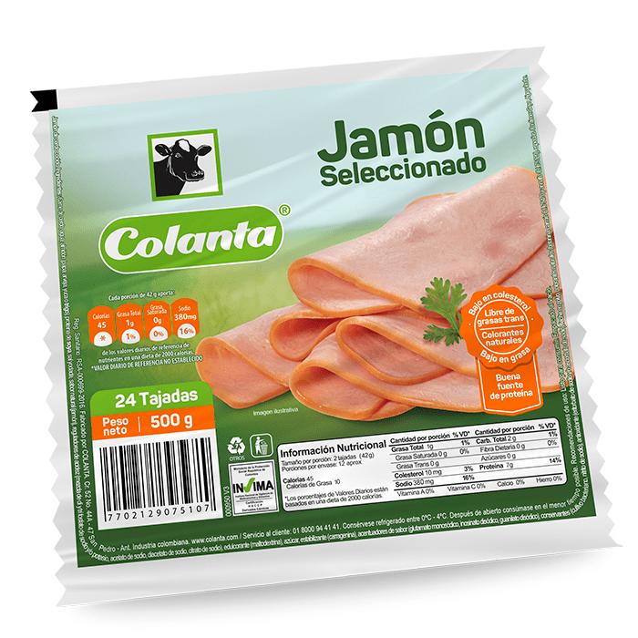 Jamón Sánduche Montefrío 500 G