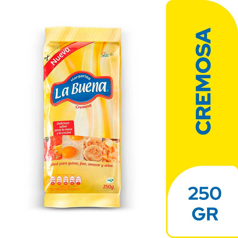 Margarina La Buena Bolsa 250 G