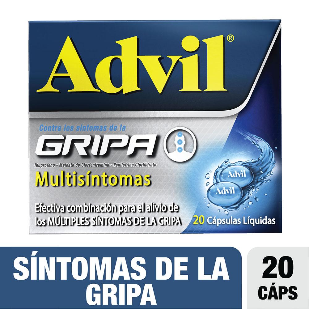 Advil Gripa Multisintomas 20 Cápsulas