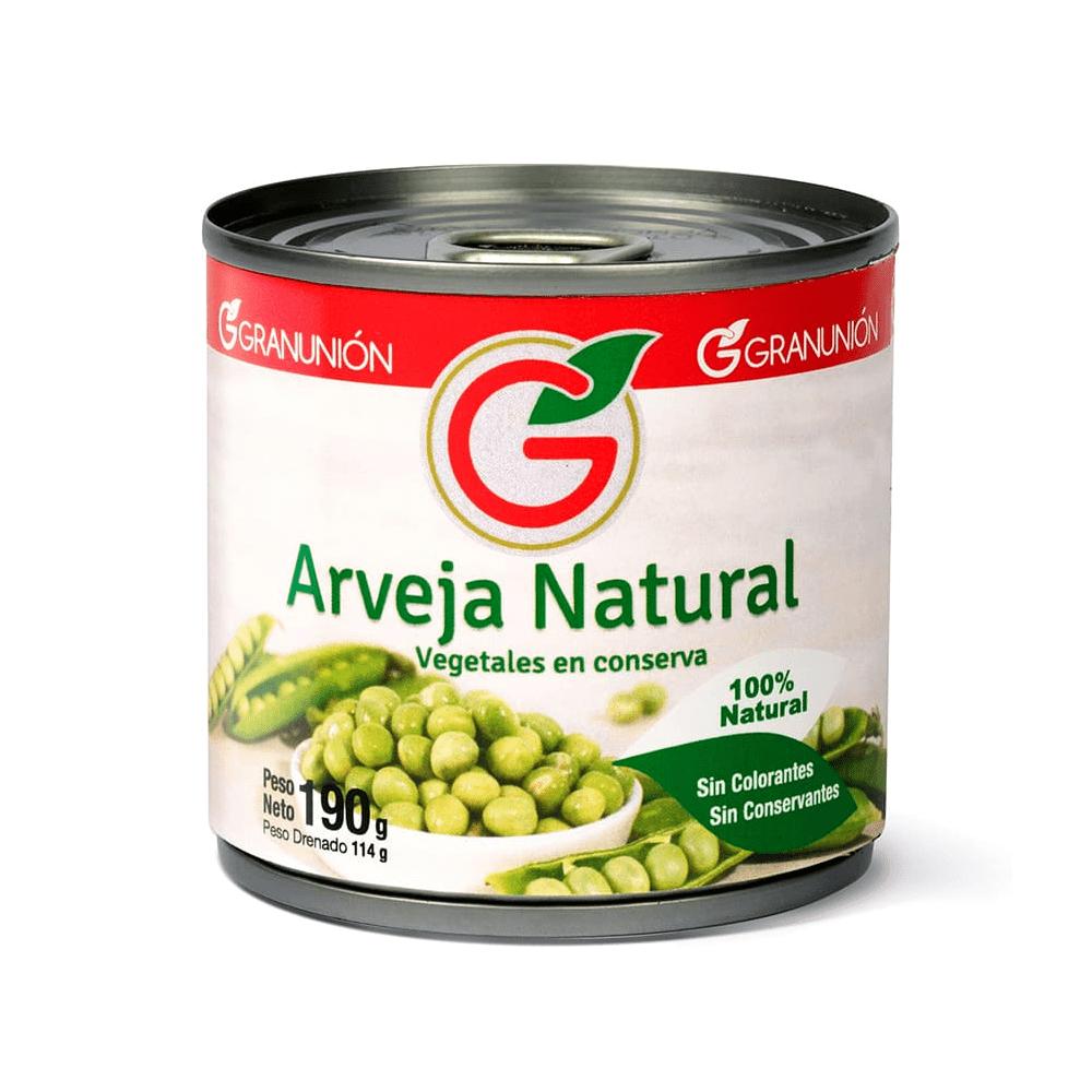 Arveja Natural Gran Unión 190 G